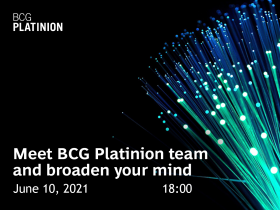 Broaden your mind with BCG Platinion